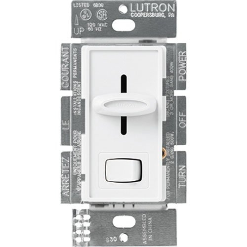 Lutron Electronics Wei- Skylark Dimmer Mit Preset Schalter S600PH-WH
