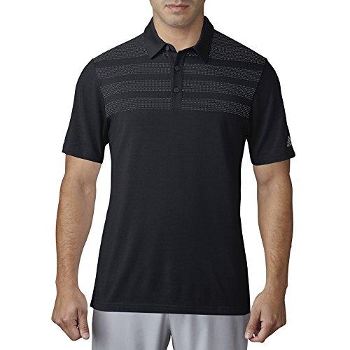adidas Golf Herren ADI 3-Streifen zugeordnet Polo XL schwarz - Adidas Golf Shirt