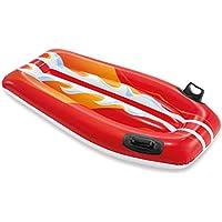 ZQYR# Tablas de Natación Flotador Kickboard | Inflable PVC de Primera Calidad| Deportes Acuáticos, Entrenamiento para Adultos y Niños [TP-58165]