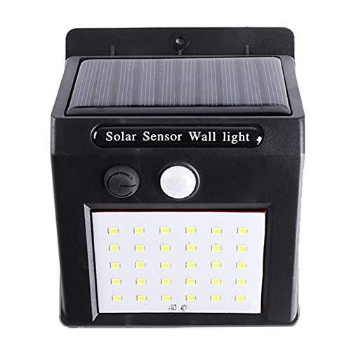 Wasserdichte 30 LED Solar Power PIR Bewegungsmelder Garten Wandleuchte Outdoor Home Light -