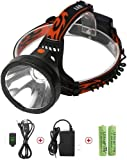 Neolight Rechargeable LED Head Torch, Super Bright CREE LED Headlamp, Waterproof 4 Modes