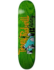 Plan B Racers Pudwill Plateau de Skateboard Mixte Adulte, Multicolore