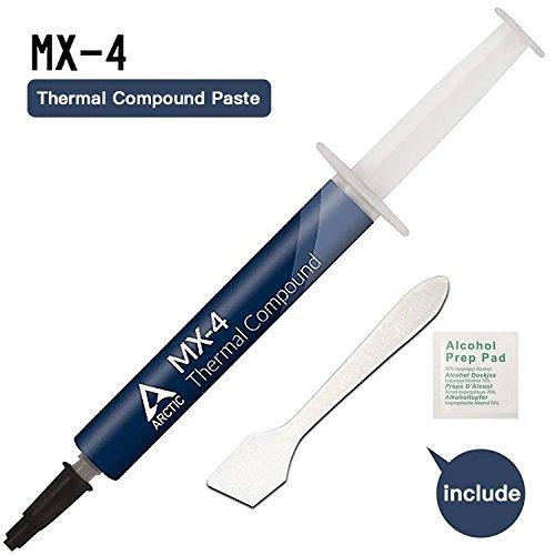 Arctic mx-4Wärmeleitpaste Paste, Carbon Hohe Leistung, Wärmeleitpaste, Wärmeleitpaste CPU-für alle Kühler, thermische Schnittstelle Material-4Gramm