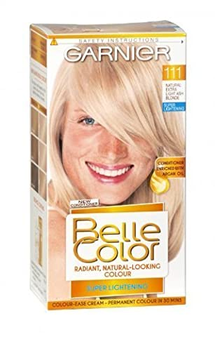 Garnier Belle Color 111 Extra Light Ash Blonde Permanent Hair