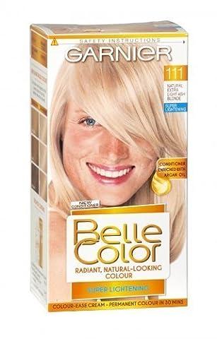 Garnier Belle Color 111 Extra Light Ash Blonde Permanent Hair Dye