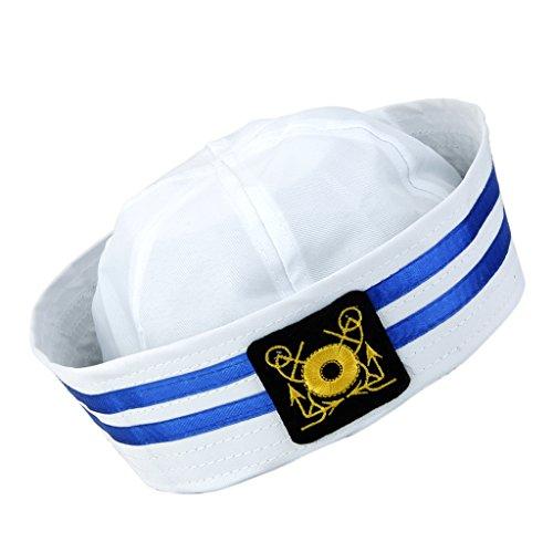 Sharplace Unisex Kapitän Navy Sailor Marine Hut Matrosenmütze für Jungen Mädchen - Farbe 1 (Jungen Für Militär Kostüme)