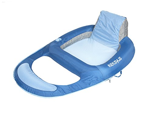 kelsyus-floating-lounger-quality-recliner-luxury-inflatable-pool-lounger-lilo-air-bed-blue-ice-blue