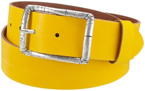 Cinturón amarillo para mujer, 105 cm