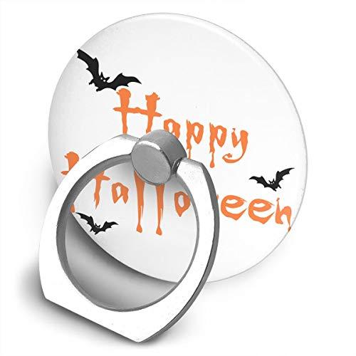 (Egesgegts Phone Holder Happy Halloween 360¡ã Rotation Ring Holder Finger Grip for All iPhones Mobile Smartphones and IPads)