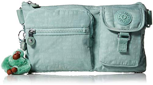 Kipling Damen Convertible Waist Pack, Multi Pocket,