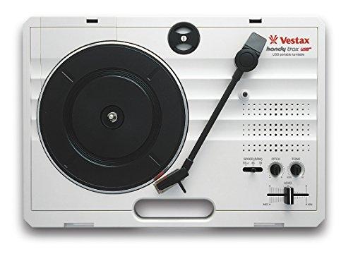 Vestax Handy Trax USB tragbarer MiniDisc Player grau–Player und Rekorder mini-disques (370x 260x 97mm, 2kg, grau)