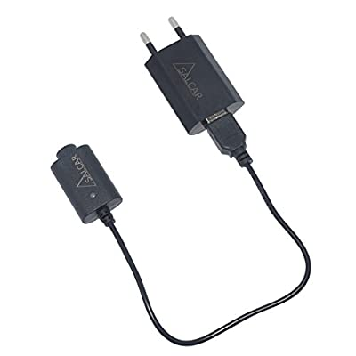 Salcar® 1100mah ego akku und USB Schnellladegerät von Salcar