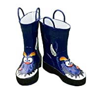 i-Smalls Kids Boys Girls Monster Funky Wellies Wi7