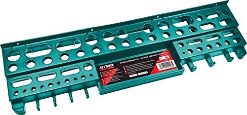 STARK Werkzeughalter, Regal für die Werkzeug-Aufbewahrung 610x160x60 mm, Belastung bis 25 KG