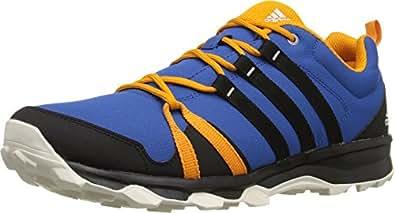 Adidas AF6150 Men's Tracerocker Walking Shoes, EQT Blue/Black/Chalk White - 6.5