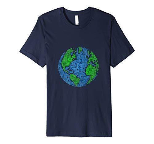 World Peace Globus Weltfrieden Frieden Hoffnung T-Shirt