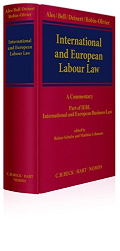 International and European Labour Law: A - Mark Bell, Book