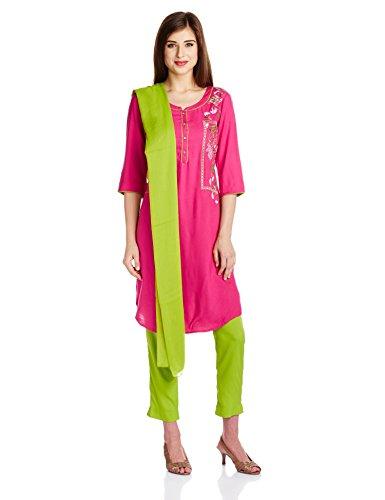 Aurelia Women's Straight Salwar Suit