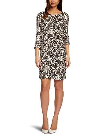 Nougat Fifi Print Silky Moss Tunic Women's Dress Pewter Size 16