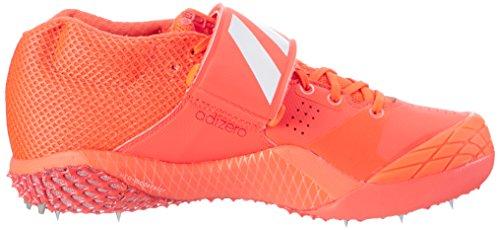 adidas Herren Adizero Javelin Sport-& Outdoor Sandalen Rot (Solar Red/ftwr White/silver Metallic)