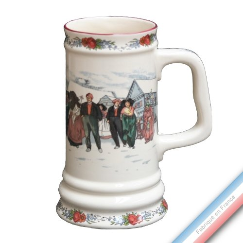 Lunéville 1730 Collection OBERNAI - Chope à Bière - H 18 cm - 880 cl - Lot de 1