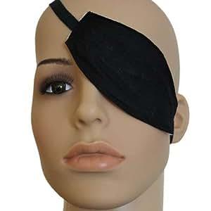 Augenbinde oval mit Bindeband - Augenschutz Augenklappe