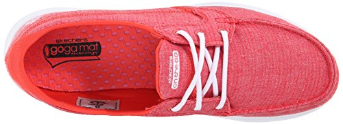 Skechers - On-the-go - Mist, Scarpe sportive Donna Rosso (Red)