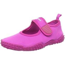 Playshoes UV-Schutz Aqua-Schuh klassisch 174797, Sandales mixte enfant - Rose-TR-SW104, 28/29 EU