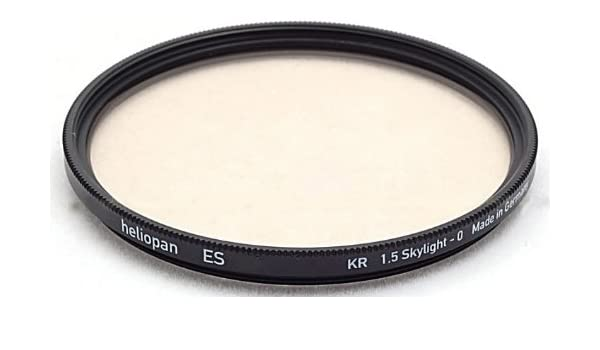 with specialty Schott glass in floating brass ring 706762 Heliopan 67mm Slim High Transmission Circular Polarizer SH-PMC Filter
