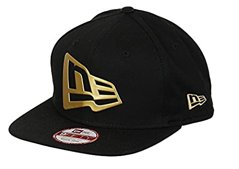 New Era Kappe 9FIFTY Snapback Flag Weld NEWERA Black-Gold