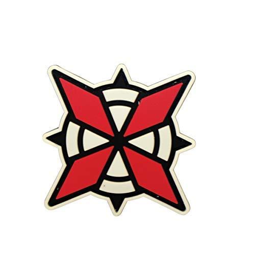 Kostüm Tasche Biohazard - Cobra Tactical Solutions PVC Patch Umbrella Security Service USS Logo Resident Evil mit Klettverschluss für Cosplay/Airsoft/Paintball für Taktischen Rucksack Kleidung