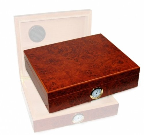 Amboina Maser Humidor Hygro 30 Polymerbefeuchter inkl. Lifestyle-Ambiente Tastingbogen