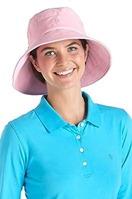 Coolibar Damen Neck Protection Sun Hut UPF 50 Plus