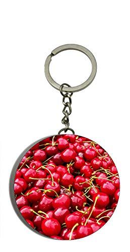Flaschenöffner Tasche Auf Der Vorderseite (Gifts & Gadgets Co. Kirschen auf Display Schlüsselanhänger Flaschenöffner Schlüsselanhänger 58 mm)