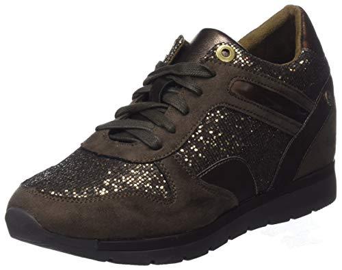 XTI 48289, Zapatillas Altas Mujer, Marrón Bronce