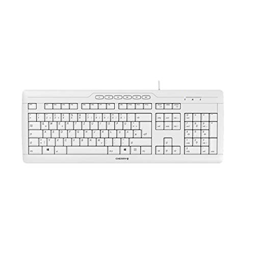 CHERRY STREAM 3.0 corded Keyboard USB grey (DE) -