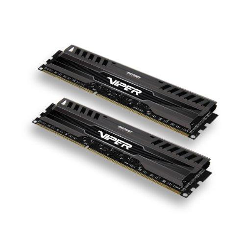 Patriot PV38G160C9K Black Mamba Arbeitsspeicher 8GB (1600MHz, CL9, 2x 4GB) DDR3-RAM Kit