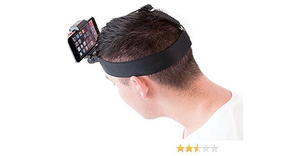 Hd Kopf Cam Für Ihr Smartphone Drehen Sie Ihr Handy In Eine Kraftvolle Hd Action Sports Kopf Kamera Elektronik