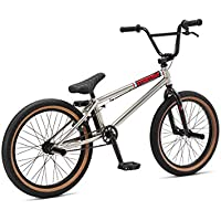 20 Zoll BMX SE Bikes EVERYDAY Dirt / Street / Park / Freestyle Fahrrad silber