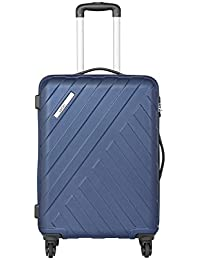 Safari Polycarbonate 66 cms Midnight Blue Hardsided Suitcases (HARBOUR 4W 65)