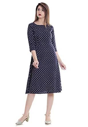 Theurbanstreet Women's Knee Length Dress.