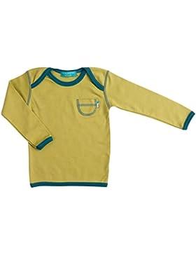 Tragwerk Shirt Nils Jersey Spinat Gr 56/62 Baby Junge Mädchen T-Shirt Langarm Pulli