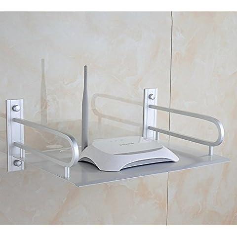 FEI&S alluminio spazio digitale TV set-top box router rack bay
