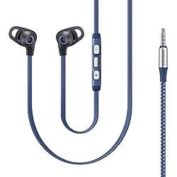 [Cable] Samsung Knobde Living Series –Auriculares in-ear con carcasa metálica, color azul