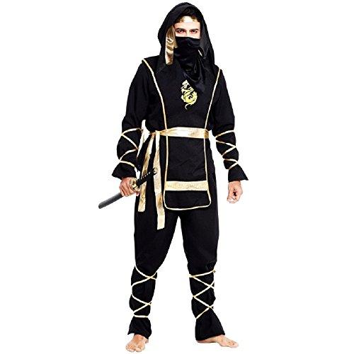 Karneval-Kostüm-erwachsene Männer (Mann Ninja Kostüm)