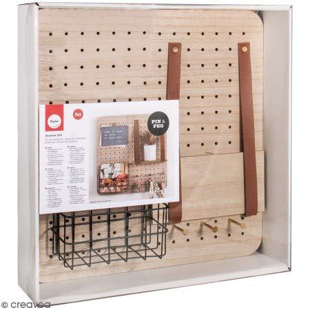 Rayher 62878000 Kit pour débutants « Pin & Peg »