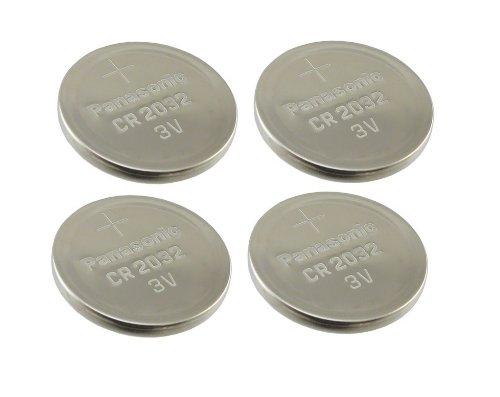Cr2032 Battery (4 Pack) - Panasonic, Lithium Coin Cell, 3V