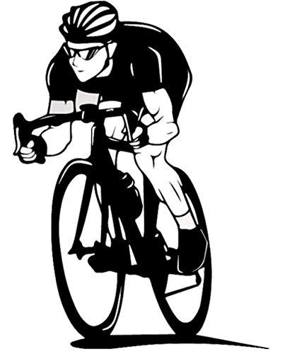 Wandsticker Wandtattoo Wanddekorationaufkleber Mauer Selbstklebend Liebe Dekorationgym Art Club Bike Tapete 43 X 59Cm -