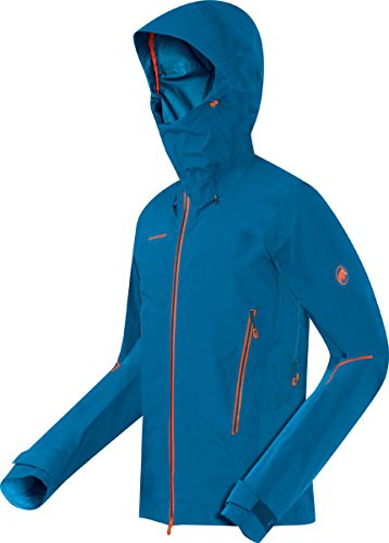 Mammut Nordwand Pro Jacket Men Gore azurblau - XL