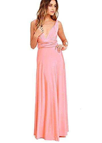 Lange kleider fur hochzeit rosa